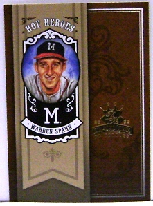 2005 Diamond Kings HOF Heroes #16 Warren Spahn