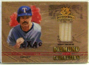2004 Diamond Kings Diamond Cut Bats #16 Rafael Palmeiro/100