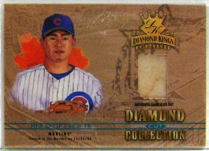 2004 Diamond Kings Diamond Cut Bats #27 Hee Seop Choi/100