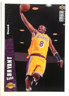 1996-97 Collector's Choice Los Angeles Lakers #LA2 Kobe Bryant