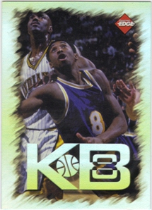 1998 Collector's Edge Impulse KB8 Holofoil #3 Kobe Bryant