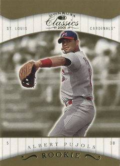 2001 Donruss Classics #108 Albert Pujols SP RC