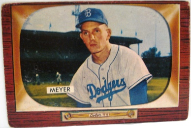 1955 Bowman #196 Russ Meyer
