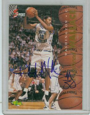 1995 Classic Five Sport Autographs #4 Rasheed Wallace SP