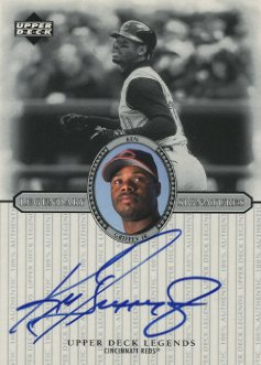 2000 Upper Deck Legends Legendary Signatures #SKG Ken Griffey Jr.