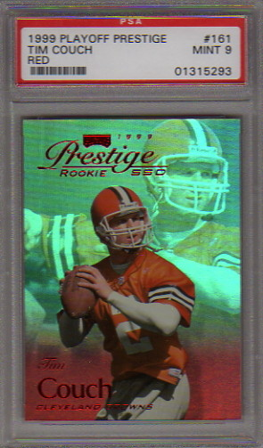 1999 Playoff Prestige SSD Spectrum Red #161 Tim Couch