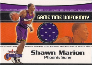 2000-01 Fleer Game Time Uniformity #10 Shawn Marion