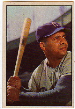 1953 Bowman Color #46 Roy Campanella
