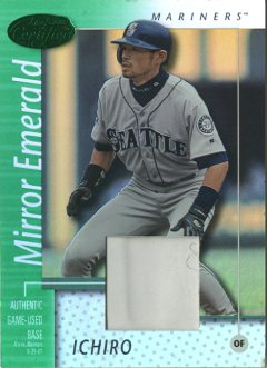 2002 Leaf Certified Mirror Emerald #144 Ichiro Suzuki  Base