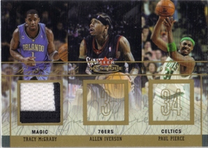 2003-04 Fleer Mystique Rare Finds Jerseys 30 #RFTM Tracy McGrady