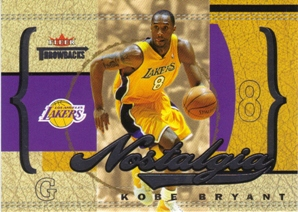 2004-05 Fleer Throwbacks Nostalgia #2 Kobe Bryant/1996