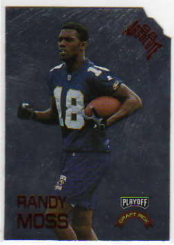 1998 Absolute Draft Picks Silver Die Cuts #9 Randy Moss