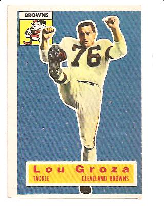 1956 Topps #9 Lou Groza