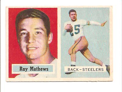 1957 Topps #63 Ray Mathews