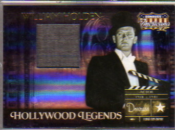 2008 Americana II Hollywood Legends Material #42 William Holden/500