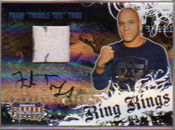 2008 Americana II Ring Kings Signature Material Prime #FT Frank Trigg/175