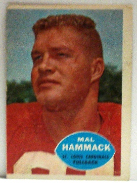 1960 Topps #104 Mal Hammack RC