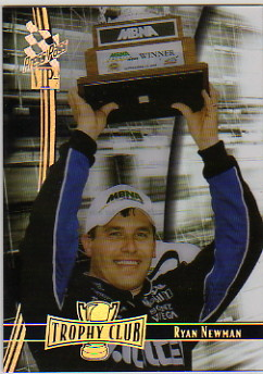 2007 VIP Trophy Club Transparent #TC8 Ryan Newman