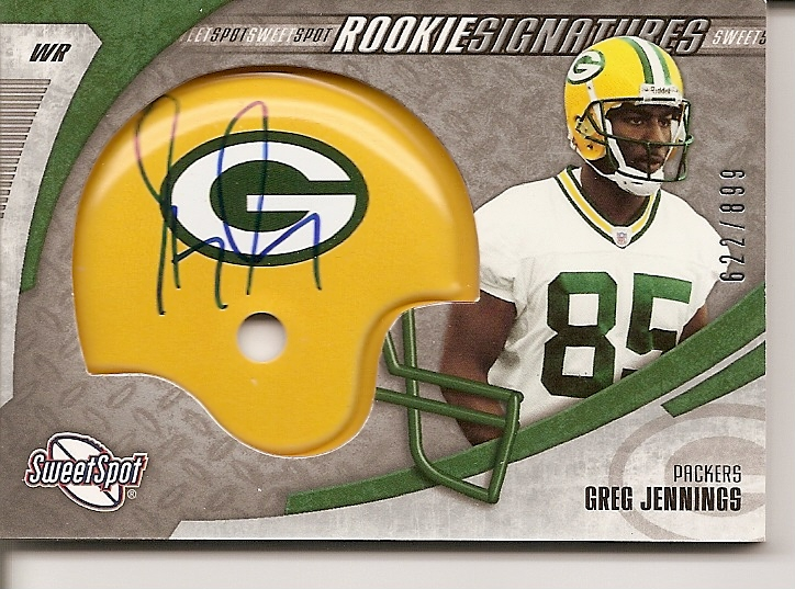 2006 Sweet Spot #235 Greg Jennings AU/899 RC