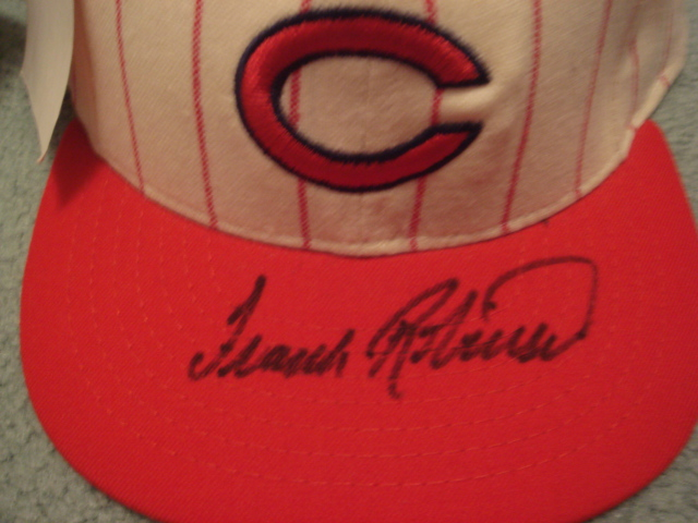 Frank Robinson Autographed Cincinnati Reds Cap with COA