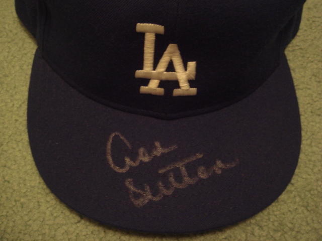 Don Sutton Autographed Los Angeles Dodgers Cap With COA