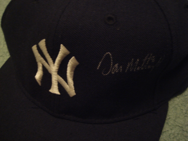 Don Mattingly Autographed New York Yankees Cap With PSA COA