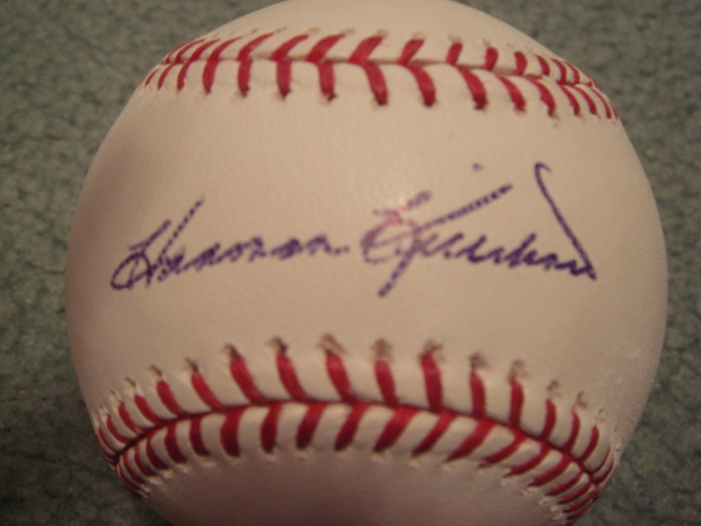 Harmon Killebrew Autographed Official MLB Baseball With PSA COA
