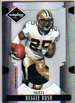 2008 Leaf Limited Threads Prime #64 Reggie Bush/50