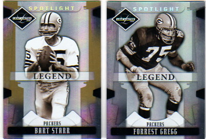 2008 Leaf Limited Gold Spotlight #102 Bart Starr
