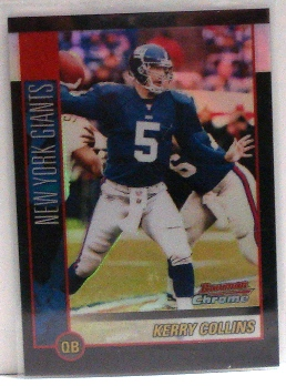 2002 Bowman Chrome Refractors #29 Kerry Collins