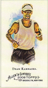 2008 Topps Allen and Ginter Mini A and G Back #268 Dean Karnazes