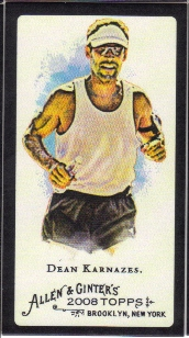 2008 Topps Allen and Ginter Mini Black #268 Dean Karnazes