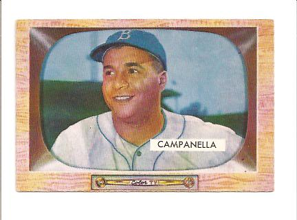 1955 Bowman #22 Roy Campanella