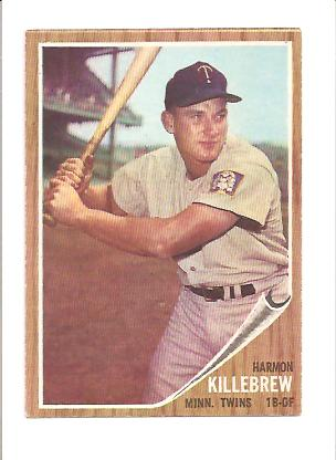 1962 Topps #70 Harmon Killebrew