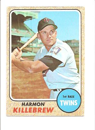 1968 Topps #220 Harmon Killebrew