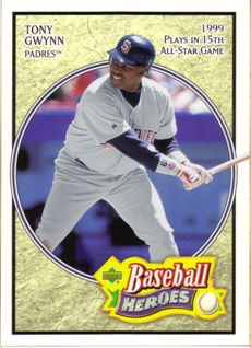 2005 Upper Deck Baseball Heroes #83 Tony Gwynn