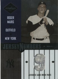 2003 Leaf Limited Jersey Numbers #22 Roger Maris Pants/10