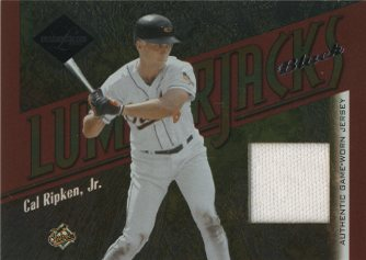 2003 Leaf Limited Lumberjacks Jersey Black #8 Cal Ripken/5