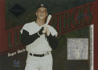 2003 Leaf Limited Lumberjacks Jersey Silver #13 Roger Maris Pants/5