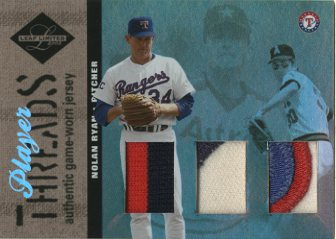 2003 Leaf Limited Player Threads Triple Prime #7 N.Ryan Rgr-Astros-Angels/10