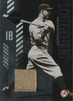 2003 Leaf Limited Threads #155 Lou Gehrig/5
