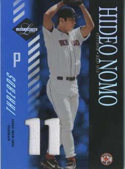 2003 Leaf Limited Threads Number #103 Hideo Nomo Sox/11