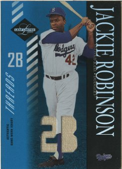 2003 Leaf Limited Threads Position #154 Jackie Robinson/10