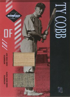 2003 Leaf Limited TNT #153 Ty Cobb Bat-Pants/10