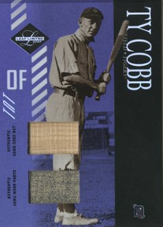 2003 Leaf Limited TNT Prime #153 Ty Cobb Bat-Pants/10