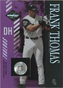 2003 Leaf Limited Threads Button #67 Frank Thomas Arms