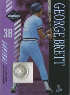 2003 Leaf Limited Threads Button #168 George Brett