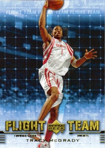 2006-07 Upper Deck Flight Team #TM Tracy McGrady