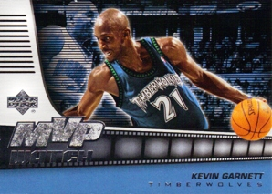 2006-07 Upper Deck MVP Watch Hot Pack #KG Kevin Garnett