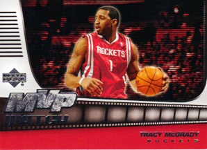 2006-07 Upper Deck MVP Watch Hot Pack #TM Tracy McGrady